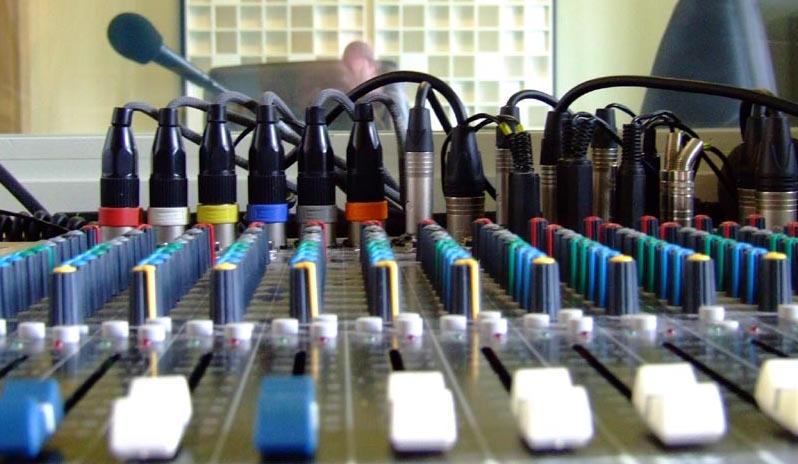 console de mixage