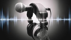 Micro et casque d'écoute