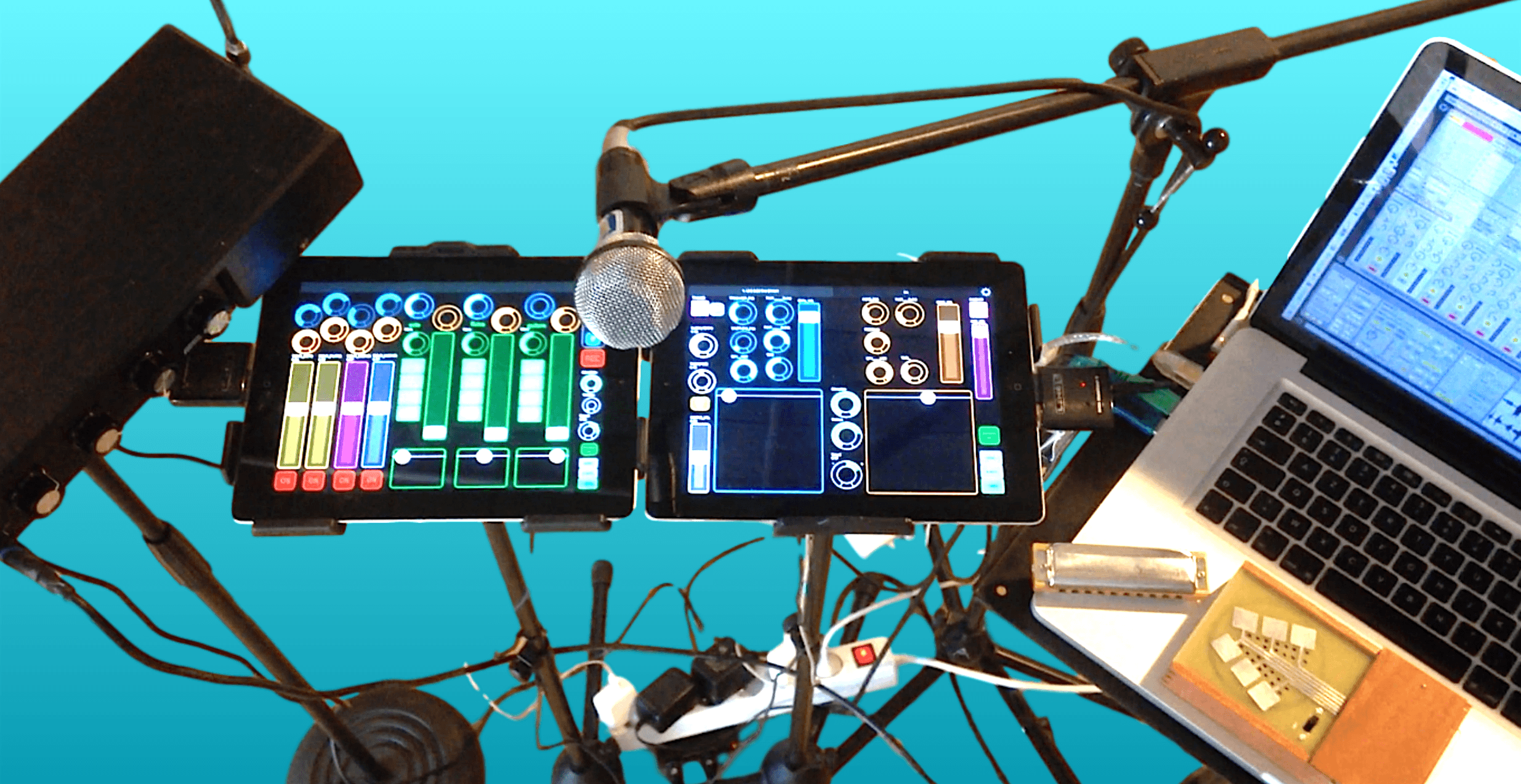 pour les musiciens - Live electronics with Lemur and Ableton Live