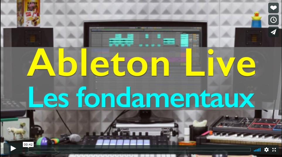 Ableton Live : les fondamentaux