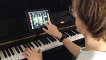 ecole de musique pédagogie musicale : piano et ipad