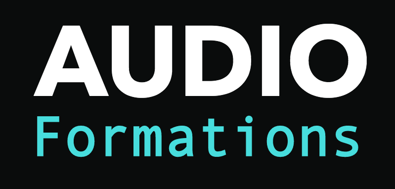 le logo Audio Formations