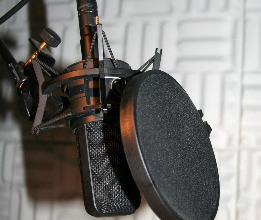 coronavirus filtre anti-pop pour microphone