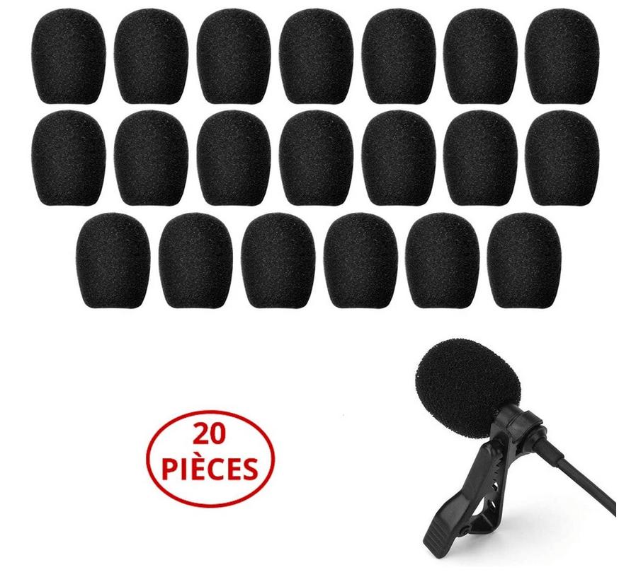 coronavirus bonnettes mousse pour microphone