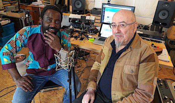 Yves Wansi et Bruno de Chénerilles en interview pour la formation Non voyants mal voyants réalisez vos podcasts de A à Z