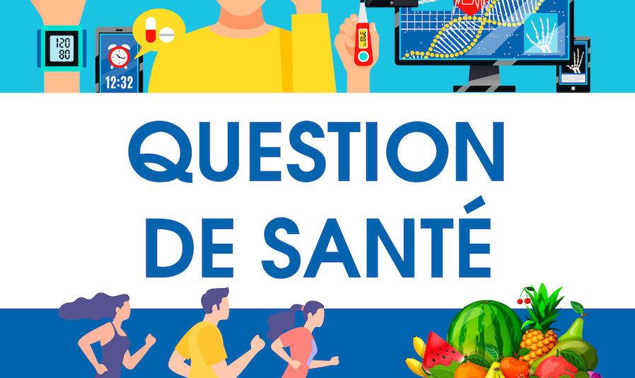 Le podcast Question de santé par Sebastien Chauveau,  journaliste audio et  non-voyant